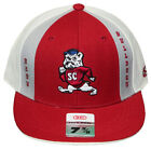 New! South Carolina State University Bulldogs - Fitted Flatbill Embroidered Cap
