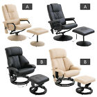 Recliner Massage Chair Arm Chair Armchair & Stool 10 Point Massage Heat Function