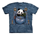 Panda in Overalls Youth T-SHIRT #151059 sizes S-M  just too cute!!!