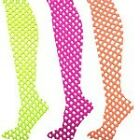 80s Fancy Dress Fishnet Tights Various Neon Colours Available