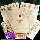 Harry Potter Hogwarts Acceptance Letter, Comes with FREE Miniature Train Ticket