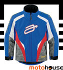 ARCTIVA YOUTH COMP 7 INSULATED JACKET SNOWMOBILE WINTER WATERPROOF BLUE RED GREY