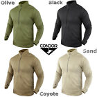 Condor 603 Tactical Thermo Base II Zip Pullover OD Olive Black Coyote Sand
