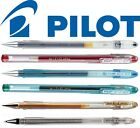 Pilot G1 Gel Ink Rollerball 0.5mm 0.7mm 6 Colours SINGLES OR PACKS OF 12