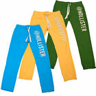 Hollister Mens Sweatpants Skinny Fit Raised Lettering Applique Pick Color V054