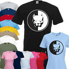 Pitbull Terrier Dog Logo Vinly Print T Shirt Mens & Ladies Sizes - All Colours