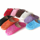 Moroccan Leather Slippers Babouche many colors & sizes - bead embroidery pattern