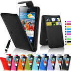Leather Flip Case Cover Wallet For Samsung Galaxy S2 I9100 Free Screen Protector