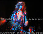 MARC BOLAN PHOTO T REX 8x10 Concert Photo in 1973 by Marty Temme 10 Glam Gibson