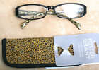 """New Foster Grant """"Kiley"""", Reading Glasses with Soft Case  +1.50, +2.00, +2.50"""
