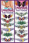 ❤ LOWER BACK TEMPORARY TATTOOS ❤ MADE IN USA
