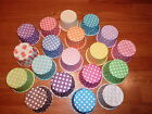 24 x Retro Vintage Polka Dot Paper Cupcake Muffin Cases Baking Cups 5cm - New