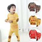 "VaenaitBaby Toddler Unisex Homewear Sleepwear Pajama Set""Europe Alps"""