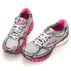 Brooks Women's Ghost 5 Running Shoes B Width White-PrsnPink (1201131B760)+GIft!