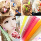 New 20 inches Fashion long Colorful Clip In Hair Women