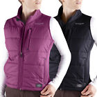 Dickies Women's Channel Quilted Vest FE361 Sleeveless jacket Pink & Black