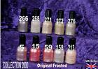 COLLECTION 2000 nail polish varnish ORIGINAL frosted pink beige mauve purple14ml
