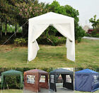 2m x 2m Garden Heavy Duty Pop Up Gazebo Marquee Party Tent Canopy