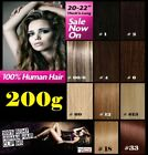 CLIP IN REMY HUMAN HAIR EXTENSIONS - Brown Blonde Black