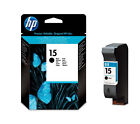 HP 15 Genuine Black Printer Ink Cartridge C6615NE