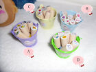 New 4 Model DIY 7pcs  Wooden Rubber Stamp +1 inkpad  new for sell