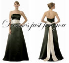 PLUS SIZE BLACK AND IVORY OR WHITE BRIDESMAID DRESS. PRE ORDER.