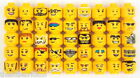 ★ LEGO ★ Minifigure Yellow Heads (3626) Colours & Qtys Listed...Vgc...Lot 2