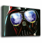 DARTH VADER SHADES - STAR WARS - GICLEE CANVAS ART *Choose your size