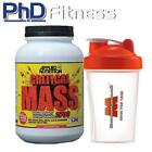 APPLIED NUTRITION CRITICAL MASS 2.2KG / 5LB + FREE SHAKER