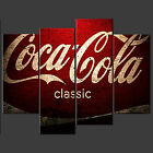 COCA COLA VINTAGE CASCADE CANVAS PRINT POSTER MODERN READY TO HANG £49.99  on eBay