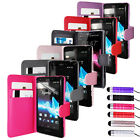 Magnetic PU Leather Case For Sony Ericsson XPERIA-T LT30i + Screen Protector