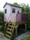 Treetops Treehouse Painted / Unpainted Playhouse
