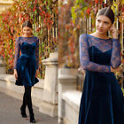 Women Bridesmaid Dress Evening Cocktail Party Prom Ball Gown03535 US Seller HWC