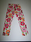 NWT GYMBOREE BLOOMING NAUTICAL LEGGINGS FLORAL MULTI COLOR