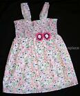 Everyday Nay by Baby Nay WONDER BLOSSOMS Smocked Woven Dress Girls 2T 4T NEW NWT