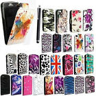 FOR APPLE IPHONE 5 PU LEATHER MAGNETIC FLIP CASE COVER + FREE STYLUS