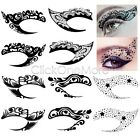 88G - Temporary Tattoo Eye Liner Eye Shadow Sticker Transfer Party Fashion