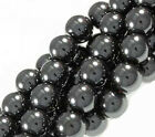 Wholesale Round Hematite Bead Black Loose Findings Spacer Beads 4mm/6mm8mm/10mm