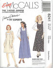 McCall's 8241 Misses' Dress or Jumper in Two Lengths   Sewing Pattern