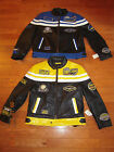NEW 2Colors Biker Racing Motorcycle Riding Genuine Leather Jackets  XL, XXL, 3XL