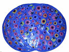 Round Placemats Dining Table Mats Floral Patterns Fabric Diner New Design Blue