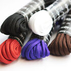 Round coloured strong bootlaces shoe laces vibrant colours in various lengths