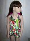 NWT GYMBOREE WILD FOR ZEBRA ONE PIECE SWIMSUIT MULTI COLOR