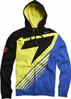NEW SHIFT RACING SATELLITE FRONT ZIP HOODIE HOODY BLACK YELLOW SWEATSHIRT JUMPER