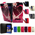 Flip Pu Leather Flip Case Wallet Cover For The HTC Windows Phone 8S