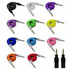 3.5mm Male Stereo Audio Auxiliary AUX Cable for PC iPod CAR Phone Flat Noodle