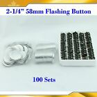 """2-1/4"""" 58mm Kinds of Button Badge Supplies Pin Magnetic Mirror Keychain Maker"""