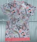 WOMEN'S O'NEILL SUMMER TUNIC TOP DRESS COVER-UP KAFTAN PINK cotton ladies NEW