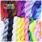 1x 25m Nylon Cord Thread Chinese Knot Macrame Rattail Bracelet Braided String T1