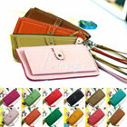 Retro Vintage Girl Woman's Faux Leather Bifold Clutch Handbag Purse Card Wallet